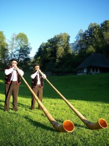 Alpenhorn, il suono delle Alpi