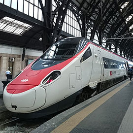 Biglietto elettronico sui treni per la Svizzera