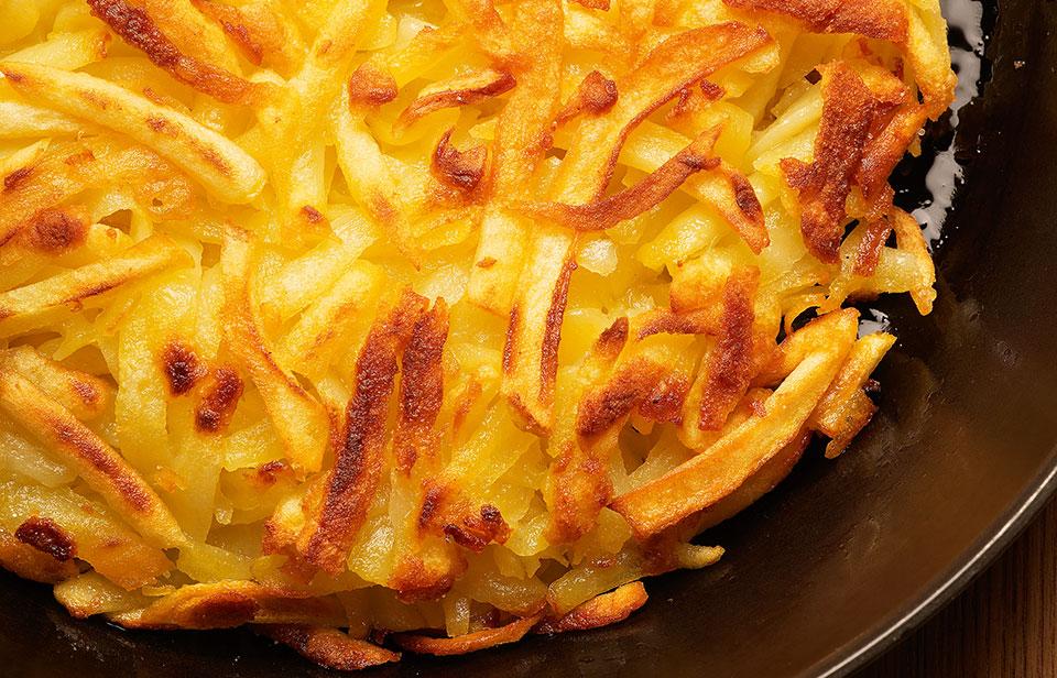 La ricetta del Rösti di patate