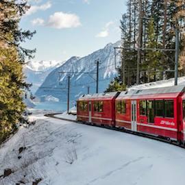 Sul Trenino Rosso: viaggio dei ricordi dall'Umbria alla Svizzera