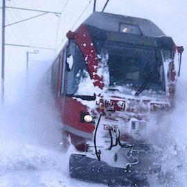 Binari di ghiaccio, l'avventura del Trenino Rosso