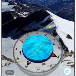 PeakVisor, l'app che dà info e nome sulle montagne