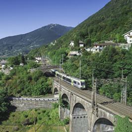 Svizzera, la terra dei treni