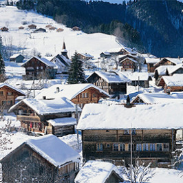 Feste assurde in Svizzera. Andate a Jaun