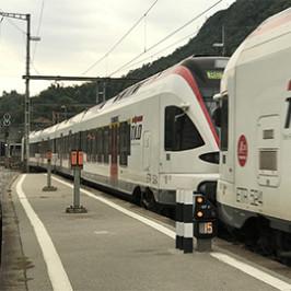 Lavori in corso per i treni svizzeri